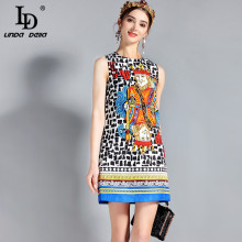 Фотография LD LINDA DELLA New Fashion Designer Runway Dress Women