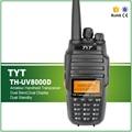Original TYT TH-8000D Atualizado Versão 3600 Mah Bateria Li-ion 10 W VHF UHF Cruz Banda Walkie Talkie