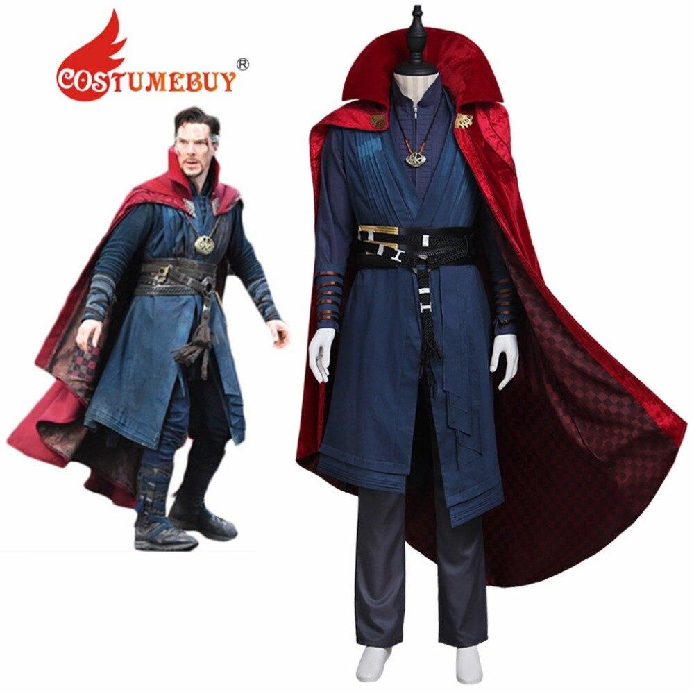 CostumeBuy Doctor Strange Costume Avengers Doctor Dr Steven Vincent Strange Benedict Cumberbatch Mens Version Costume L920