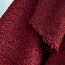 Red yarn-dyed Wool cotton circle wool coat fabric/ woolen tweed tecido telas christmas tulle dress african patchwork fabric A174 photochromic wool fabric