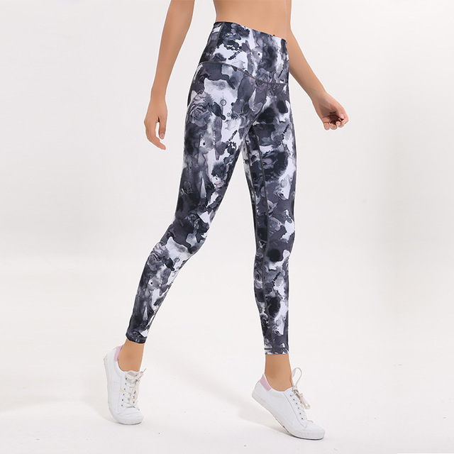 NWT-Women-Tights-High-Waist-Yoga-Pants-Tummy-Control-Workout-Running-Pants-4-Way-Stretch-Yoga.jpg_640x640