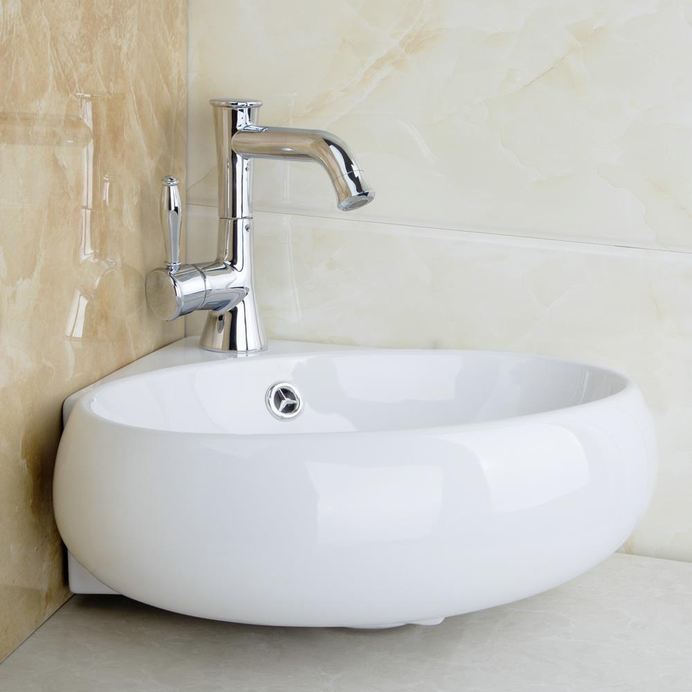 Lavabo Salle De Bain Ovale ~ kemaidi salle de bains en c ramique bassin vier robinet ensemble