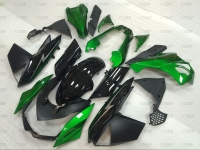 Z 1000 2011 Fairing Kits for Kawasaki Z1000 2010 2013 STREET EDITION Green Black Fairing for Kawasaki Z1000 10 11 Abs Fairing