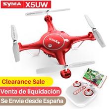 SYMA 公式ドローンプロ X5UW RC ドローンカメラ、 Hd Wifi FPV RC ヘリコプタードローン Dron Quadcopter Selfie ドローン