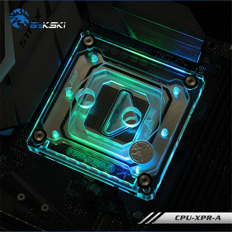 Bykski CPU Water Block support for intel 2011 1151 X299 for computer PC cooling system CPU-XPR-A thermalright le grand macho rt computer coolers amd intel cpu heatsink radiatorlga 775 2011 1366 am3 am4 fm2 fm1 coolers fan