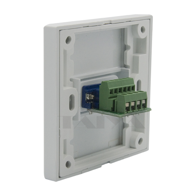 3+6 VGA wall plate with back side screw connectors