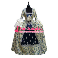 Victorian Rococo Medieval Gown Ball Dress Gothic Evening Dress Cosplay Costume Tailor made[G955]