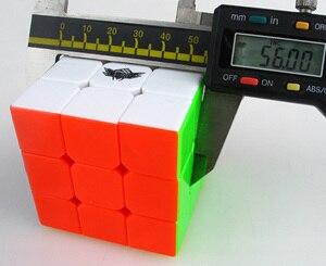 Image 4 - พายุไซโคลนเด็กBundle 6ชิ้น/เซ็ตของขวัญPack 5.6ซม.3X3X3 Magic Puzzle Professional 3X3 cubo Magicoของเล่นเพื่อการศึกษาเด็ก