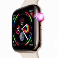 GPS IWO 8 PLUS 44mm Watch 4 Heart Rate Smart Watch case for apple iPhone Android phone IWO 5 6 upgrade Watch series 4 1:1