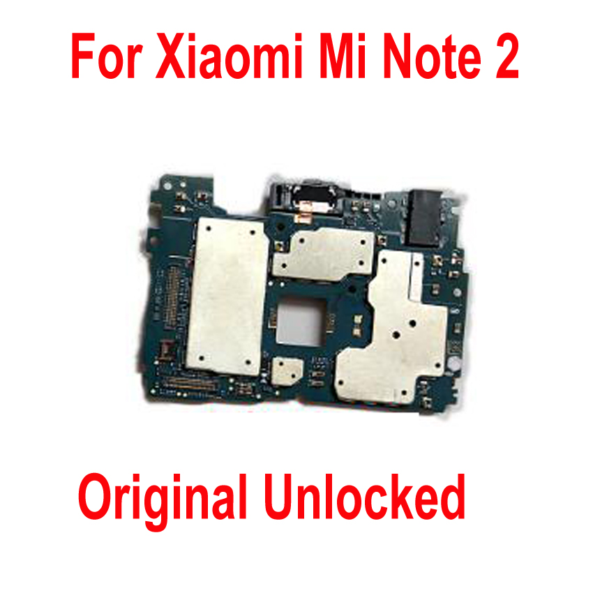Global Firmware Original Unlock Mainboard For Xiaomi Mi Note2 Note 2 motherboard Circuits card fee flex