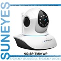 SunEyesSP-TM01WP ONVIF 720 P MegaPixel HD Ip Inalámbrica con Pan/Tilt Ranura Para Tarjeta SD e IR Cut 720 p (1280x720)