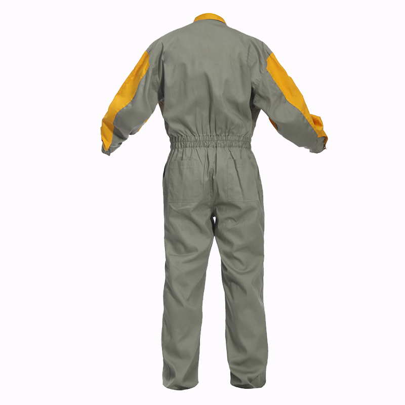 40bd25241e52 Oubisi denim work jumpsuit mechanic overalls-in Safety Clothing from  Security   Protection on Aliexpress.com