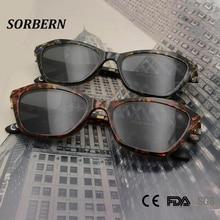 High Quality Ultem Plastic Titanium Spectacles Frame Cat Eye Glasses Frames For Women With Clip On Polarized Sunglasses