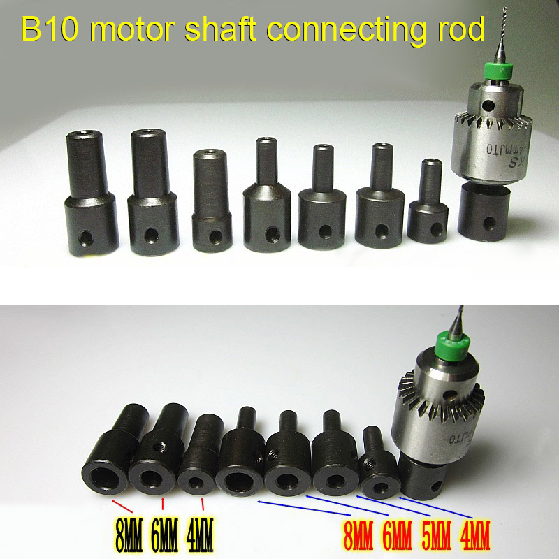 4-12mm Motor Shaft Drill Clamp Chuck Coupling Coupler Connector Sleeve Screw LB88