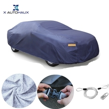 X Autohaux Car Covers Outdoor Indoor Waterproof Scratch Protector Rain Snow Sun UV Heat Resistant Universal Car Cover DHL Free