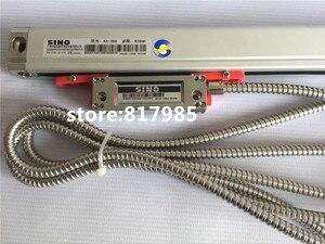 Image 3 - חם! מארז מתכת DRO SDS6 3V צג דיגיטלי סין + 5 מיקרון מקודד ליניארי KA300 בקנה מידה ליניארי