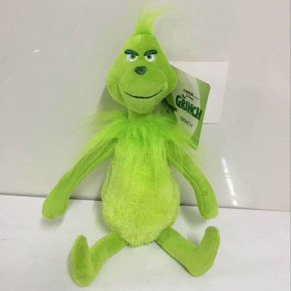 Original How The Grinch Stole Christmas Stuffed Plush Toy Grinch Xmas  Christmas Gifts USA STOCK