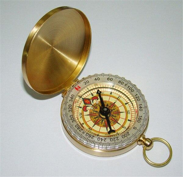 442936691650 100 unids clásico r1b1 latón reloj de bolsillo del estilo que acampa  Brújulas senderismo