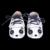 Gato de Dibujos Animados al por menor zapatos de Bebé con Cordones Del Niño Del Bebé mocasines de cuero Genuino muchachas de los Bebés Primeros Caminante Envío gratis