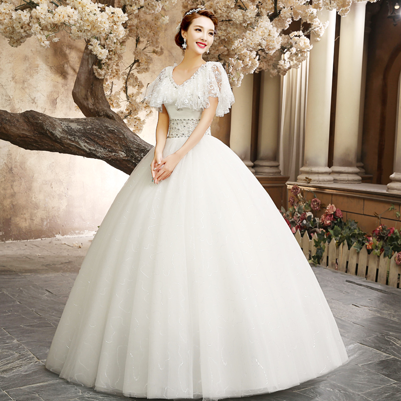 Latest Wedding Gowns 2014: The Bride Wedding Dress Formal Gowns 2014 New Autumn