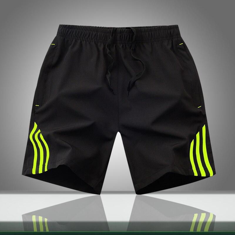 Летние мужские повседневные шорты в полоску 2019, мужская спортивная одежда, короткие спортивные штаны для бега, Мужские дышащие брюки, пляжные шорты, Прямая поставка
