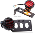 New License Plate Bracket Brake Tail Light Lamp For Harley Choppers Sportster Bobber