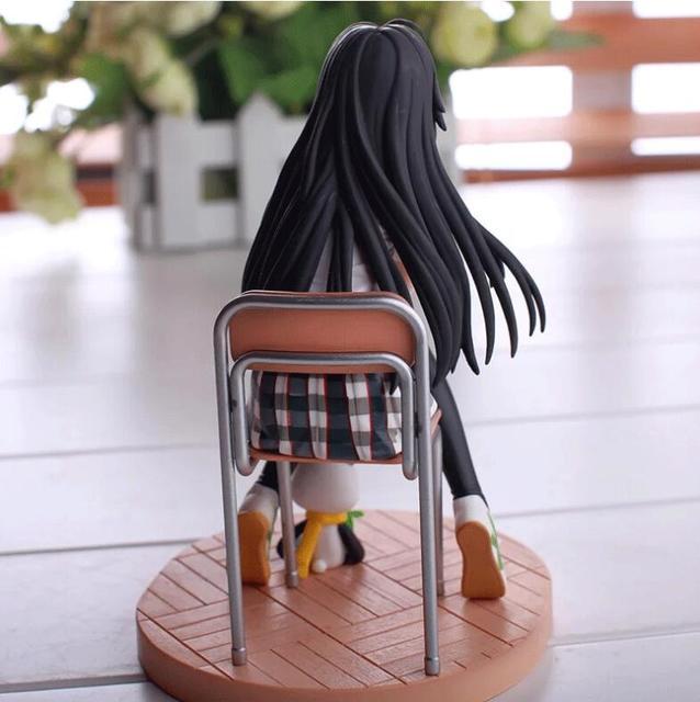 Аниме фигурка Юкино Как и ожидалось, моя школьная романтическая жизнь не удалась 14 см 4
