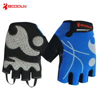Boodun New Summer Bicycle Gloves Wear Resistant Anti Skid Breathable Half Finger Cycling Gloves Factory Wholesale