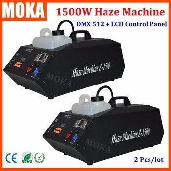 2 adet/grup 1500 W Sis makinesi parti duman jeneratörü püskürtme duman makinesi düğün etkisi makinesi