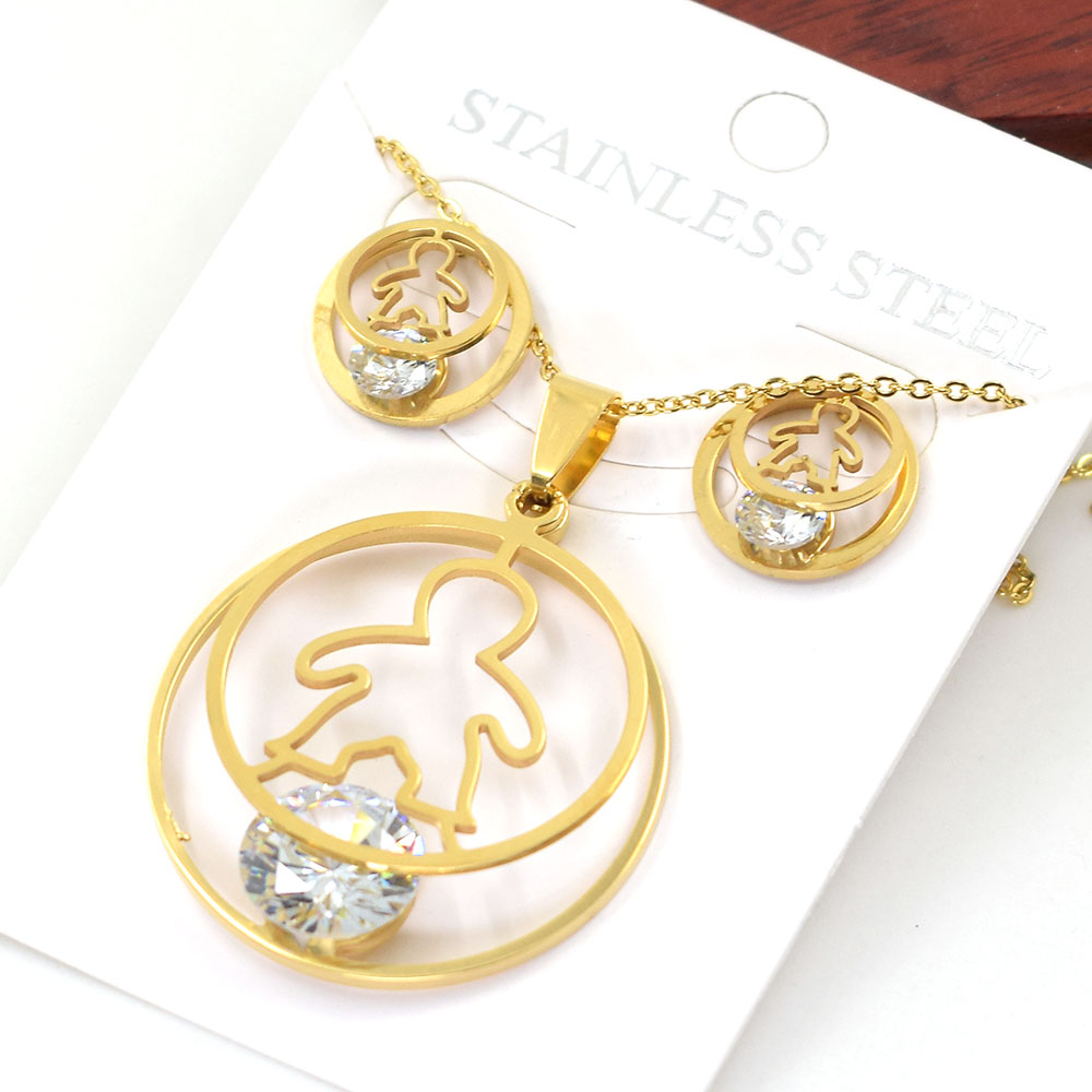 Cute Necklace Stainless...