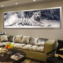 Cute Realistic Tiger Printed DIYDiamond Painting