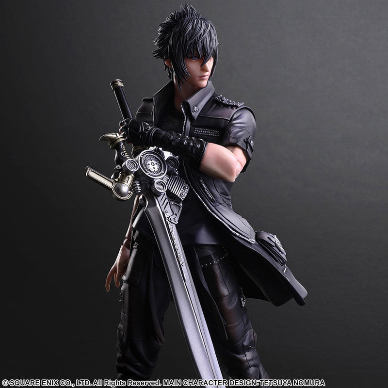 Play Arts KAI Final Fantasy XV FF15 Noctis Lucis Caelum PVC Action Figure Collectible Model Toy 25cm