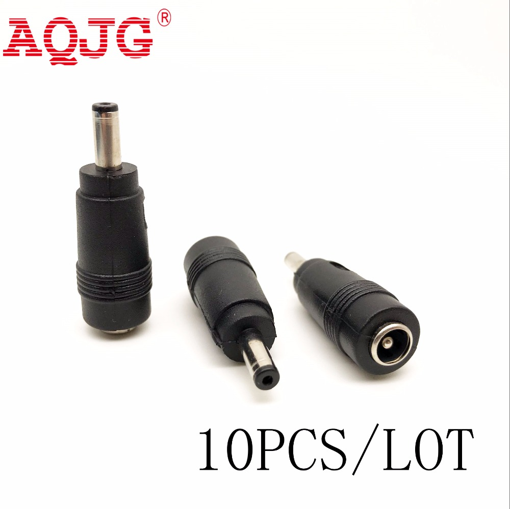 2.1 x 5.5 mm female to 4.0 x 1.35 mm male 180 Degrees DC Power Connector Adapter Laptop 5.5*2.1 to 4.0*1.35 AQJG For ASUS