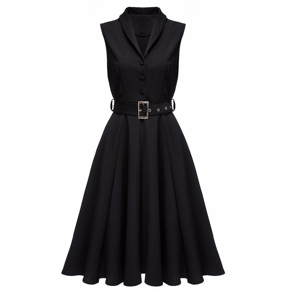 Kenancy 5 Farben 2017 Neue Frauen Vintage Kleider Sommer Elegante ...