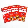Toshiba карты памяти Реальная емкость 16 ГБ 32 ГБ 64 ГБ 128 ГБ класса 10 sdhc/sdxc UHS-I 1 U3 90 М/С карта micro sd Пройти h2testw