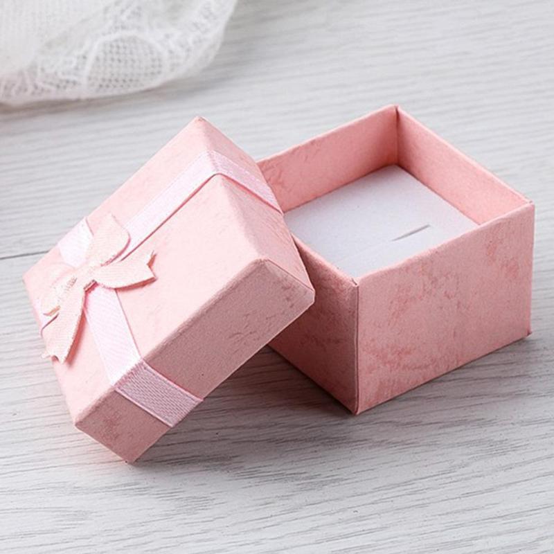 4x4x3cm Jewelry Box Jewery Organizer Storage Box Small Gift Box For Rings Earrings Ring Watch Jewelry Display Joyeros Organizad