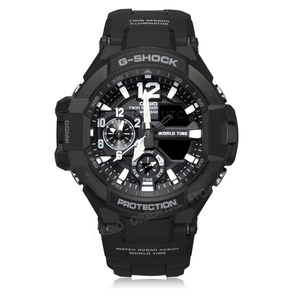 Buy casio watch g shock men 39 s watch clock led sports quartz wrist watch for Watches g shock