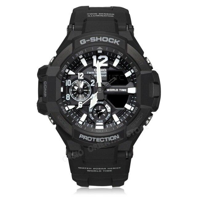 c19115dbb517 Reloj CASIO G-SHOCK reloj para hombre reloj de pulsera LED deportivo de  cuarzo reloj