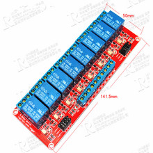 eight way 5V 12V 24V relay module with optocoupler isolation to support high and low level trigger development board 1pcs 3 3v 1 channel 3v relay module optocoupler isolation low level trigger relay module