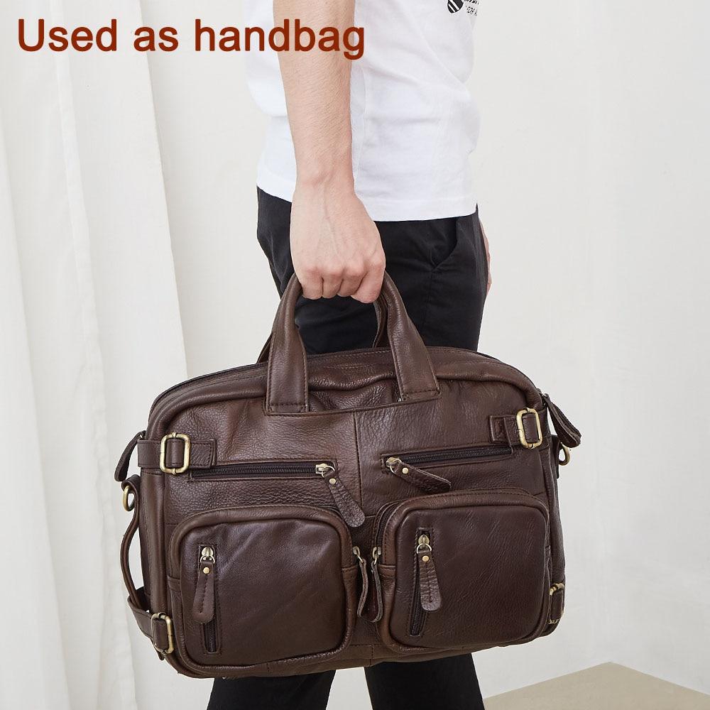 JOYIR torebki markowe prawdziwej skóry podróży torba mężczyźni torby podróżne rocznika bagażu duża torba podróżna torba weekendowa wysokiej Quality9911 w Torby podróżne od Bagaże i torby na  Grupa 1