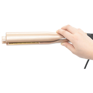Image 4 - מקצועי 2 ב 1 טוויסט שיער מסתלסל ומיישר ברזל שיער מחליק שיער מסלסל רטוב & יבש שטוח ברזל שיער styler