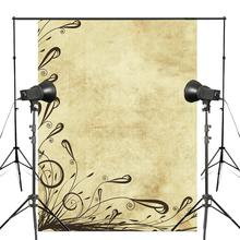 5x7ft Vintage Old Parchment Yellow Photography Backdrop Grass Background Kids Photo Studio Wall Backdrop vinyl photography backdrop vintage photo studio photographic background flower wall floral newborns kids background 5x7ft f1913