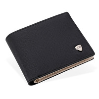 Credit Card Bag Money Pocket Large Capacity Coin Purses Men Wallet PU Leather Portfolio 2016 Famous