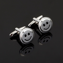 XK116 High quality fashion men's business Cufflinks smiley model Cufflinks men's shirt clothing accessories