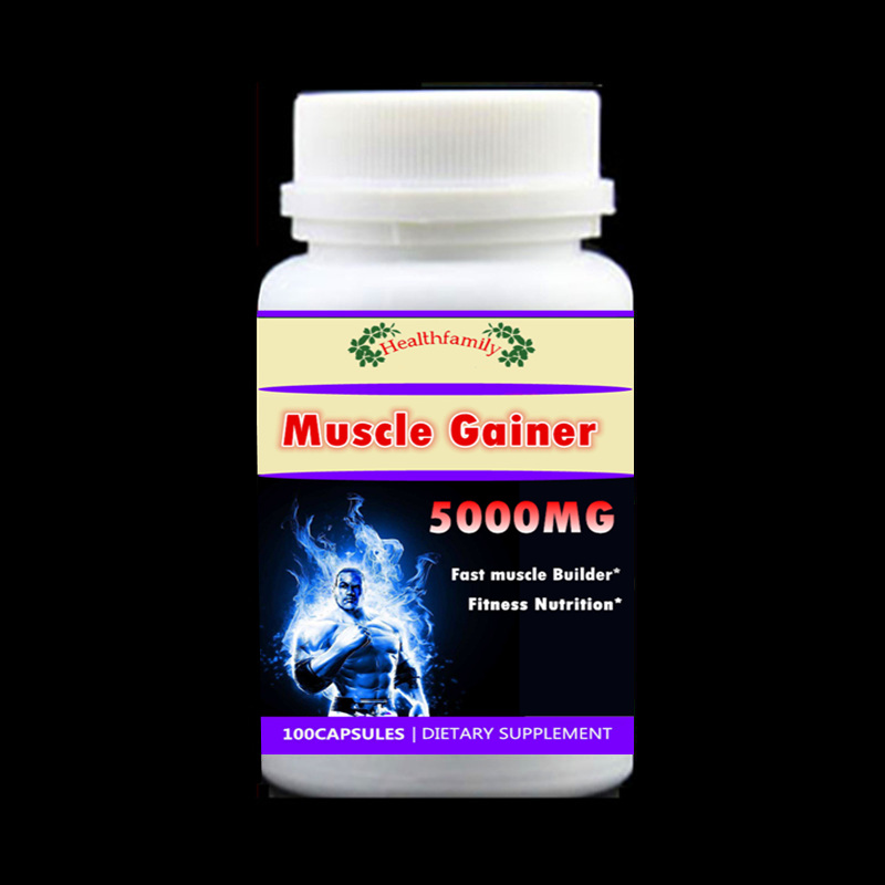 Fast Add Muscle Formula Muscle Gainer Fitness Whey Protein Nutrition Supplement Increase Weight 100pcs/bottle