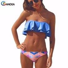 BANDEA бандо купальники женщины бикини установить стринги strappy купальник бикини бразильский biquini мягкий купальники горячие продажа HA111