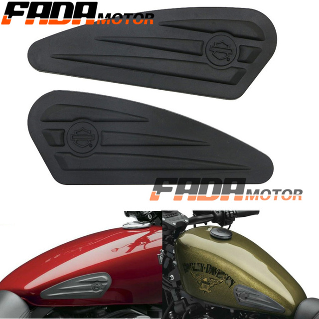 Universal Anti Slip Gas Tank Decals Stripes Stickers For Harley Davidson