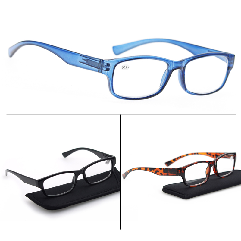 Reading Glasses Frame Sight Square Diopter 175 Presbyopic 200 Women 275 400 250 225 150