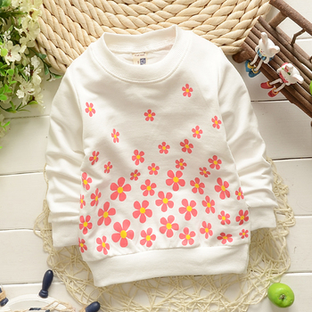(1piece /lot) 100% cotton 2018 Cute sweet flower  baby outerwear 4