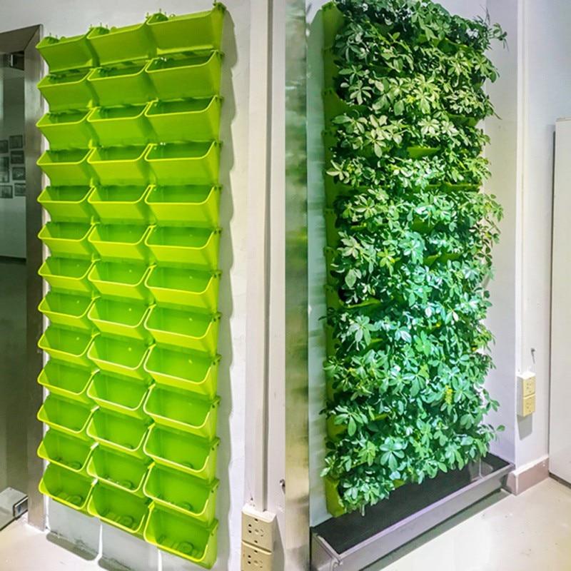 Modular Type Plant Supplier Vertical Pot Planter Wall Supplies Flower Garden Green Hanging Growing